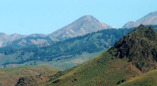 The Cone from Ketchum, Idaho...