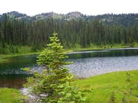 South end of the small lake...