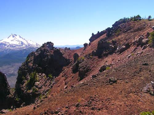 South summit of Olallie Butte...