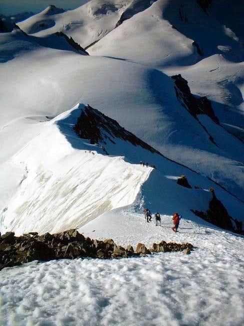on the SE ridge
