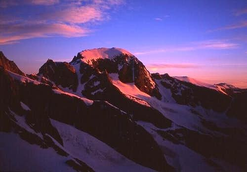 Gannett Peak in the morning...