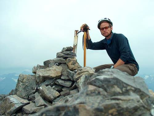 Summit Photo on Mount Rae,...