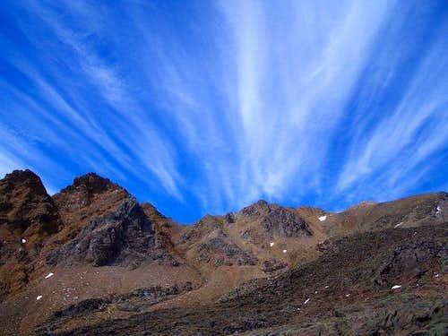 North way up to Mount Ruapehu...