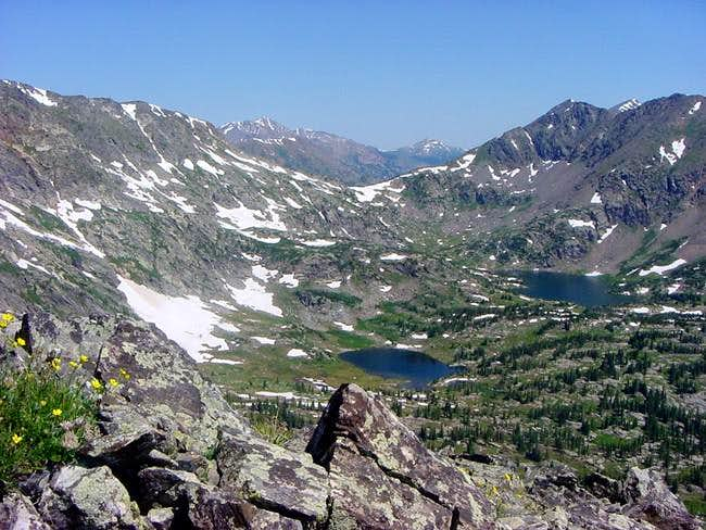 Savage Peak and Missouri Lakes