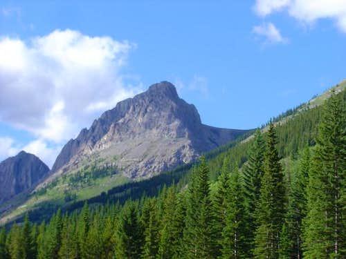 Grizzly Peak in Kananaskis...