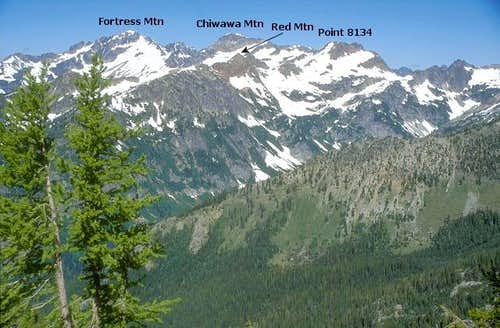 Red Mountain, Point 8134, and...