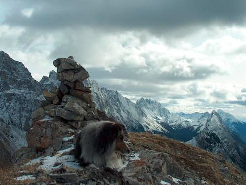 Summit Photo on Grizzly Peak,...