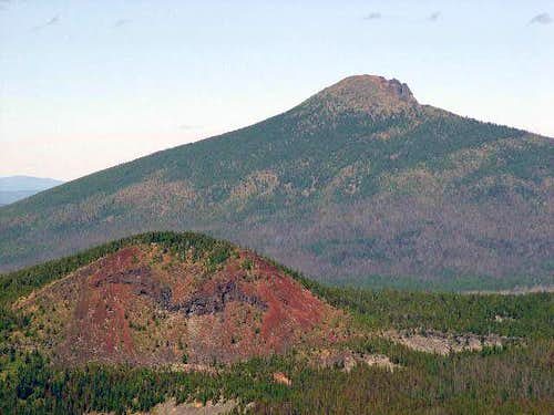 Olallie Butte in back of...
