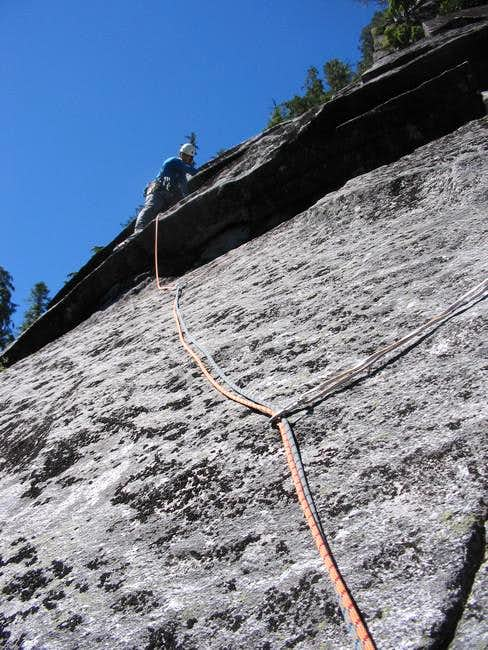 Leading pitch 7 (~5.8+) of...