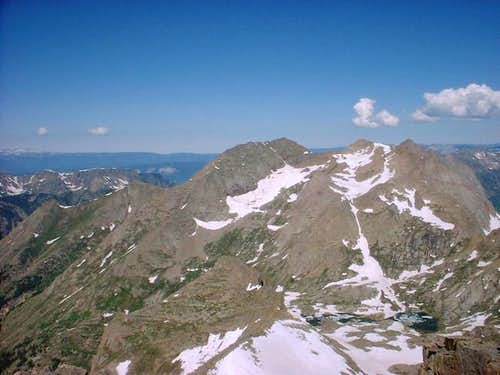 Mt. Eolus from Windom Peak