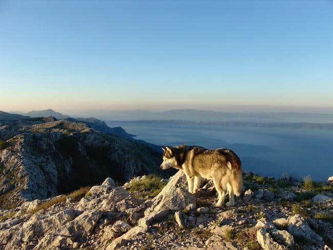 Sunrise at Vosac (peak and...
