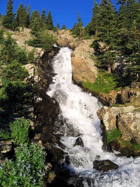 Continental Falls, just off...