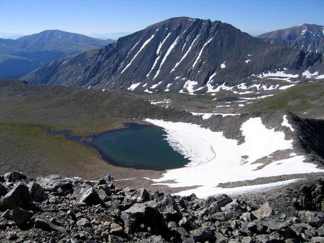 Pacific Tarn is the highest...