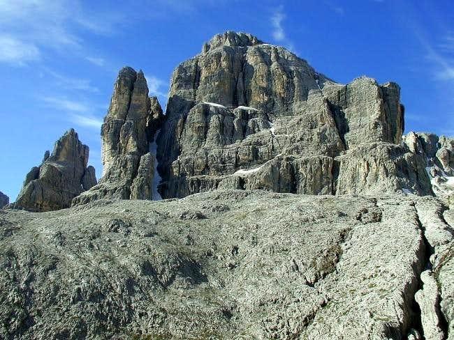 Cima Pisciadu from north...