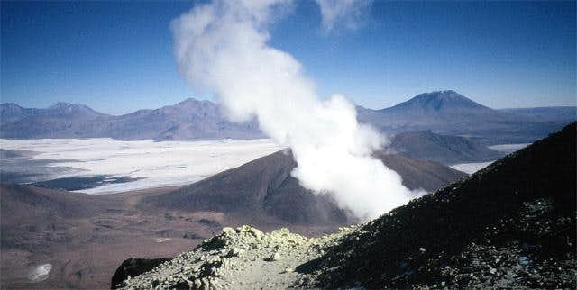 Fumaroles and Volcanic Gas