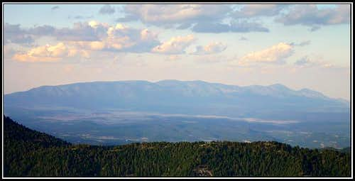 The Capitan Mountains from...