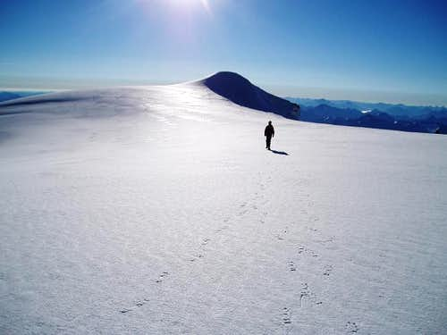 Heading for the summit from...