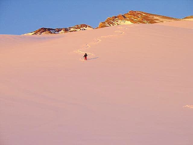 Given good conditions, Volcan...