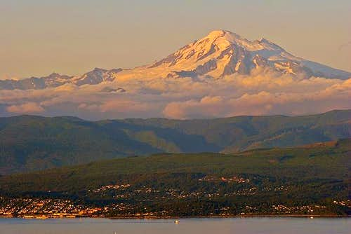 Evening hues on Mt. Baker...