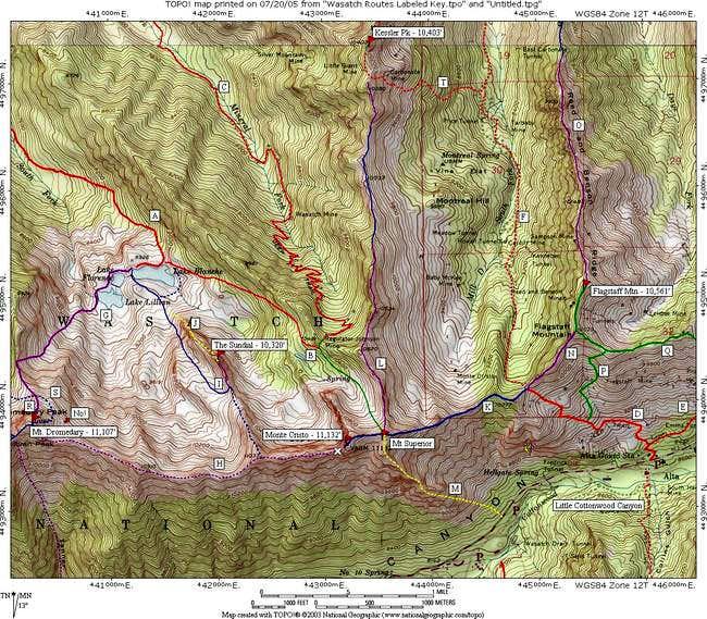 Mt Superior & Monte Cristo...