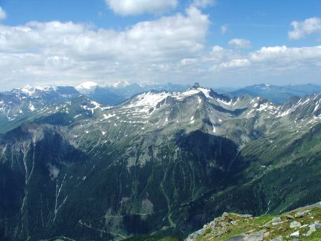 View on Ankogel groupp from...