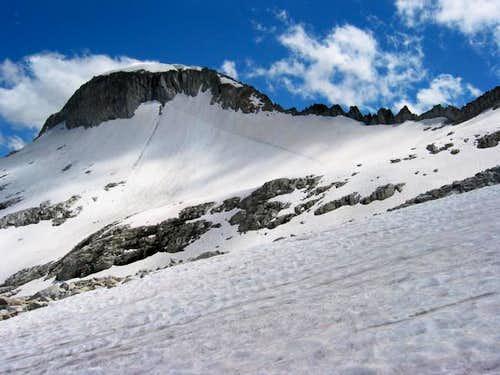 Glacier Peak and west ridge...