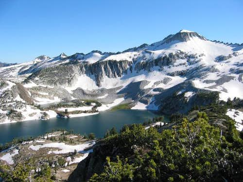 Glacier Peak and Glacier Lake...