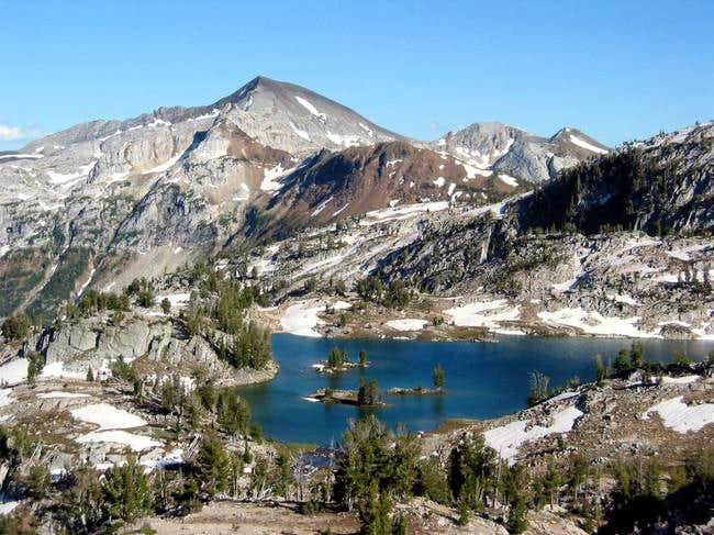 Cusick and Glacier Lake from...