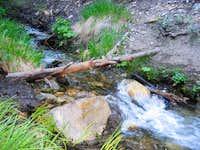 Fish Creek Trail crossing...