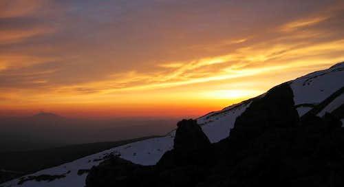 Sunset...Mt. Adams