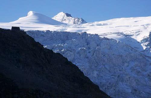Cabane de Moiry, glacier de...