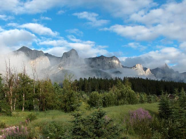 The Rundle Traverse is a...