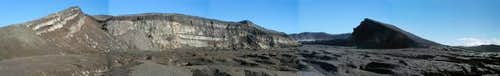 A panoramic view of the main...