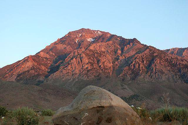 Mount Tom from near the...