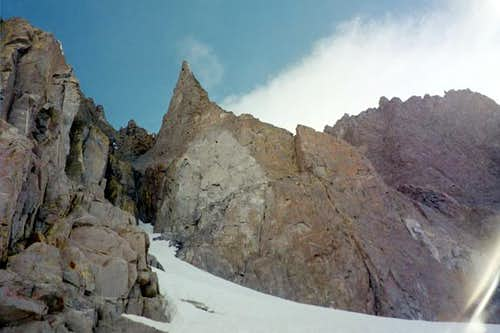 Sun Ribbon Arete start is in...