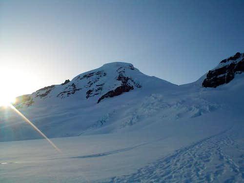 The Coleman Glacier route,...