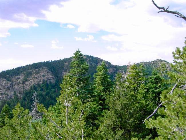Osha Peak on the right, its...