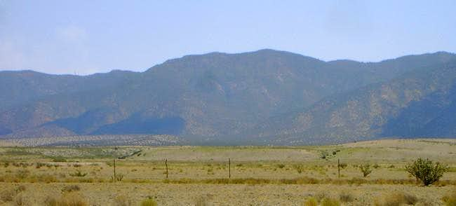 Osha Peak and northern twin...