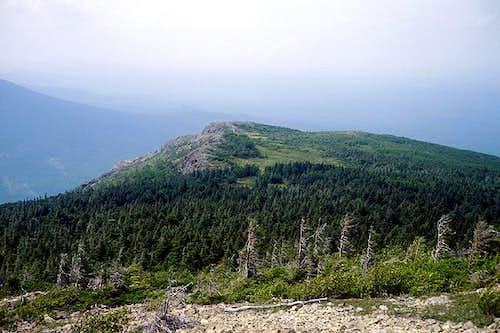 View northwest down North...