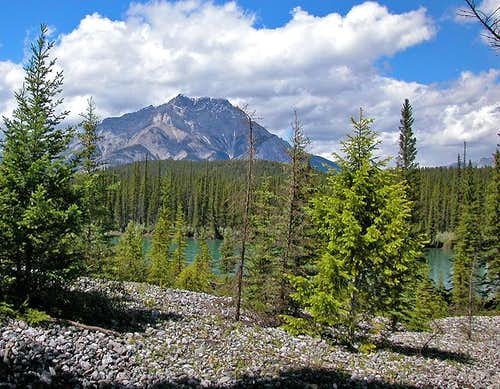 Cascade from the Bow River....