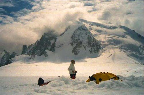 Mont Blanc du Tacul seen from...