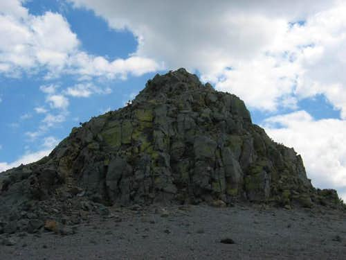 Summit scramble to Crater...