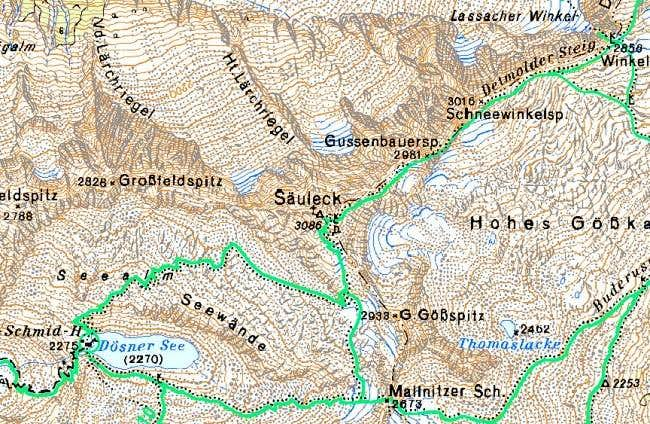 The map of Seauleck