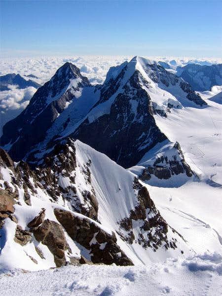 Vue du sommet de la Jungfrau,...