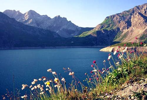 Luenersee. The hike on...