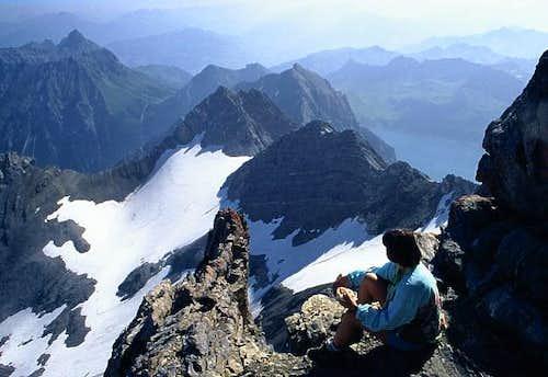 On the summit of Schesaplana,...