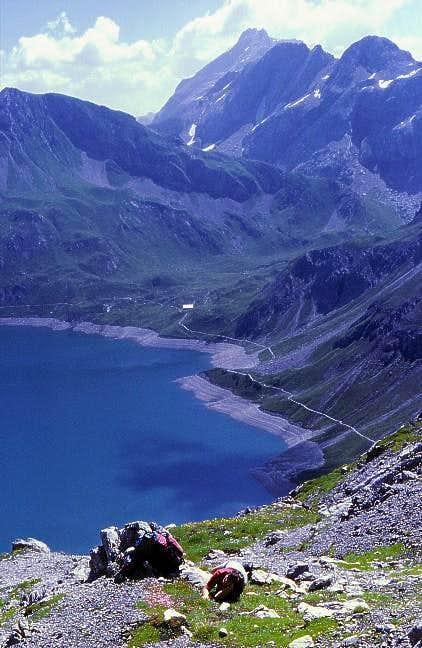Schesaplana From Luener See