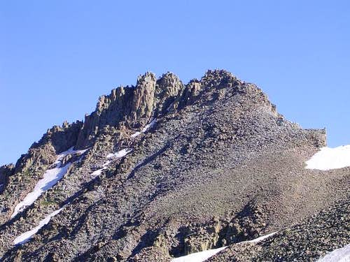 Lavender Peak seen from Mount...