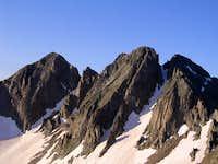 Babcock Peak's three main...