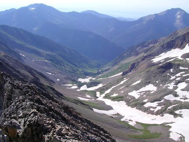 View down Tomahawk Basin from...